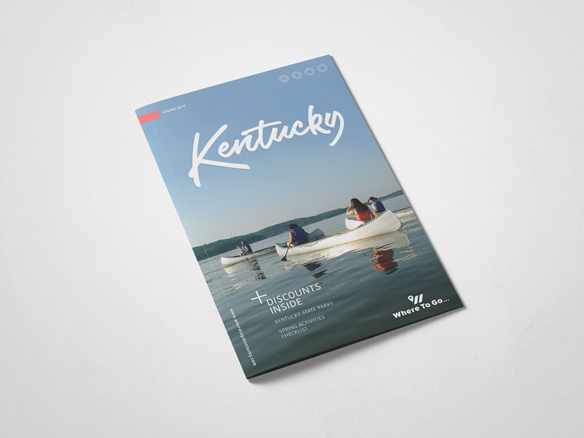 Where to Go KY print and branding design